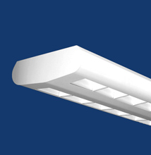 Series 9  Oval Luminaire with Dual, Parallel Windows