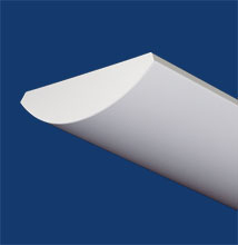 Series 5-I Curved, Low-profile, Indirect Luminaire