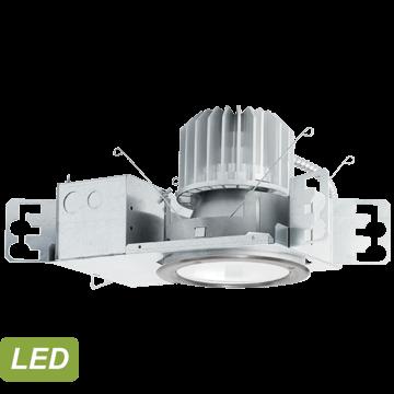 LuxTran Downlights for Transportation (Flush Lens)