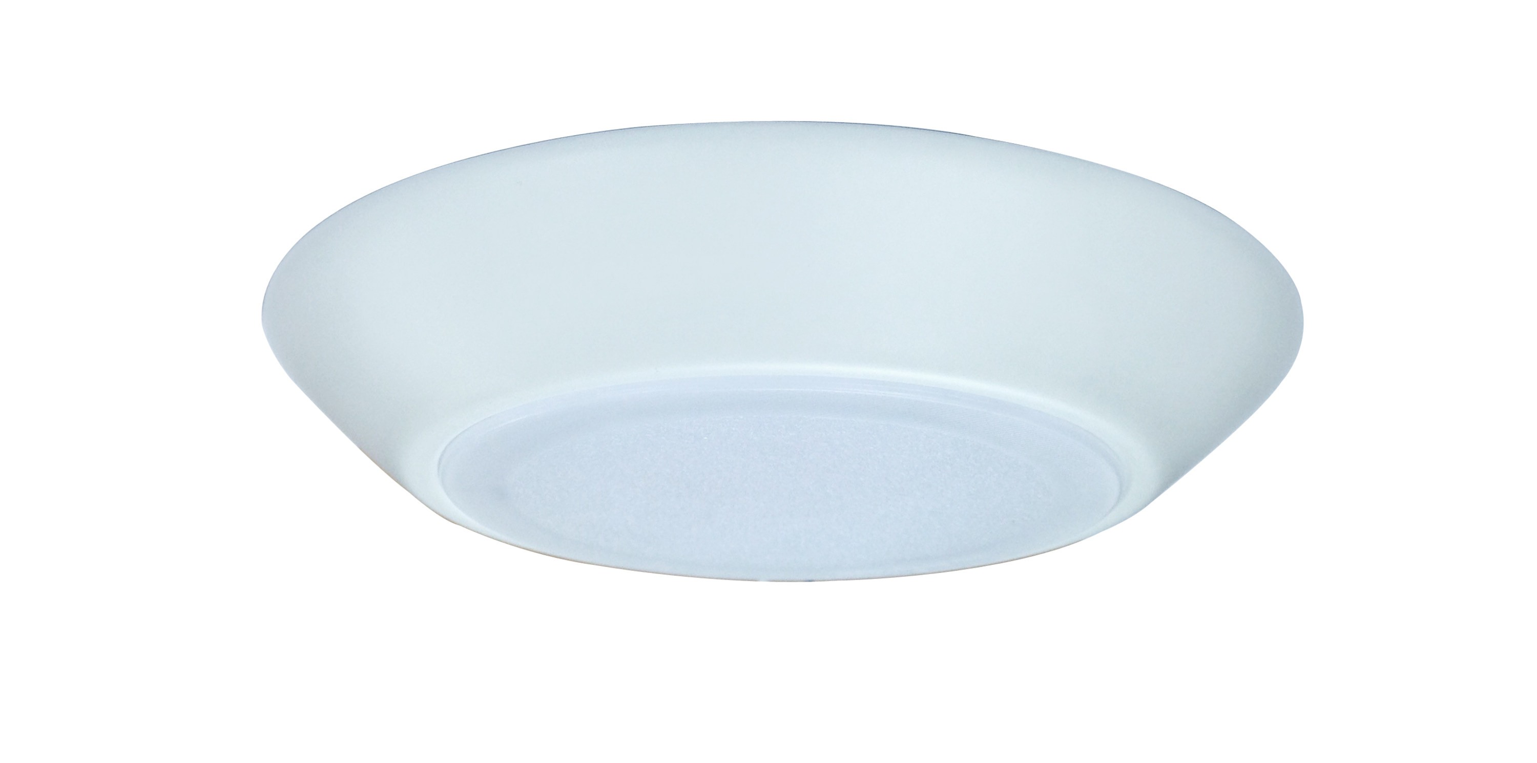"""6"""" LED Low Profile Disk Light with Flat Lens 