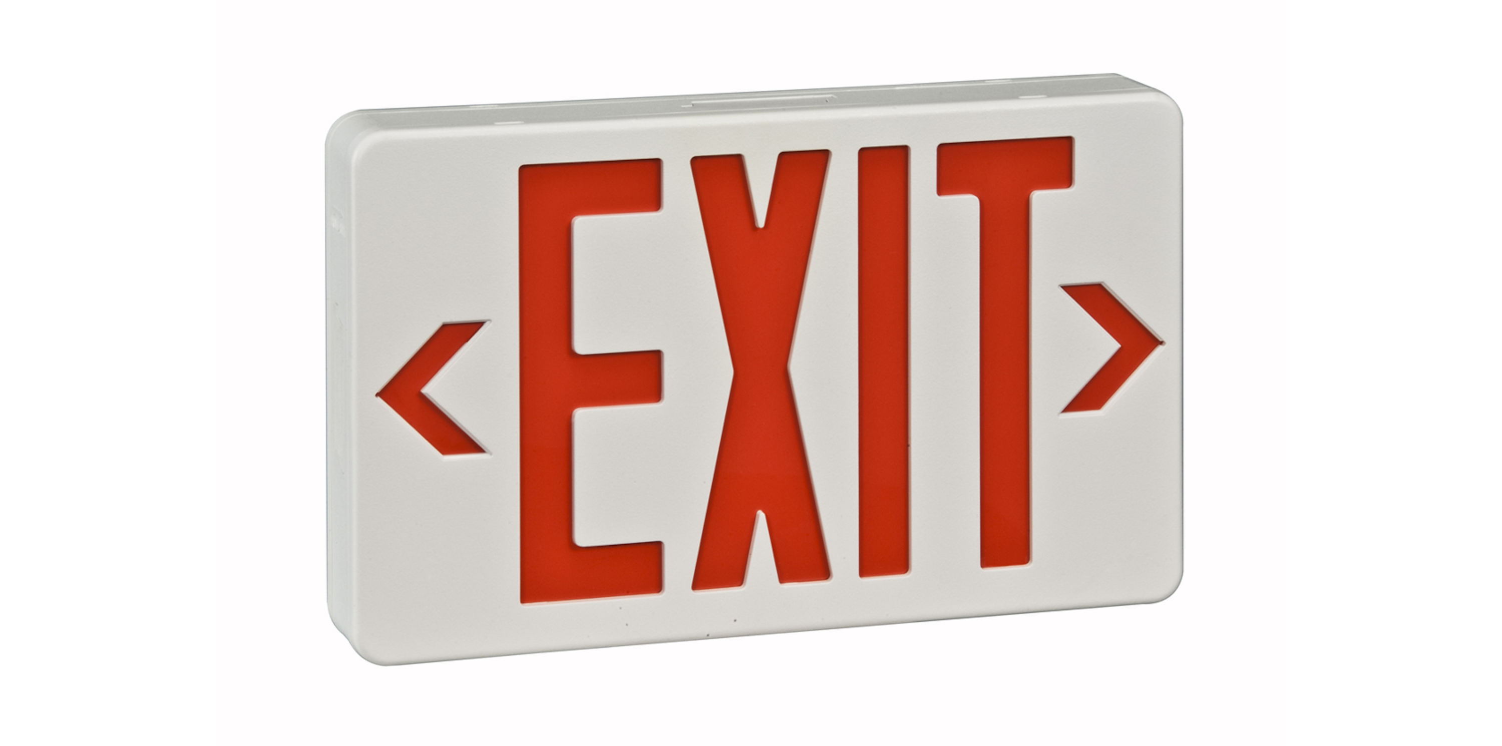 LED Remote Capable Exit Sign