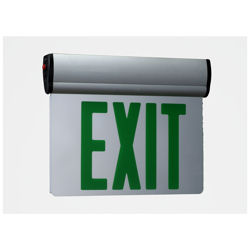 Double-Sided Edge Lit LED Exit Light