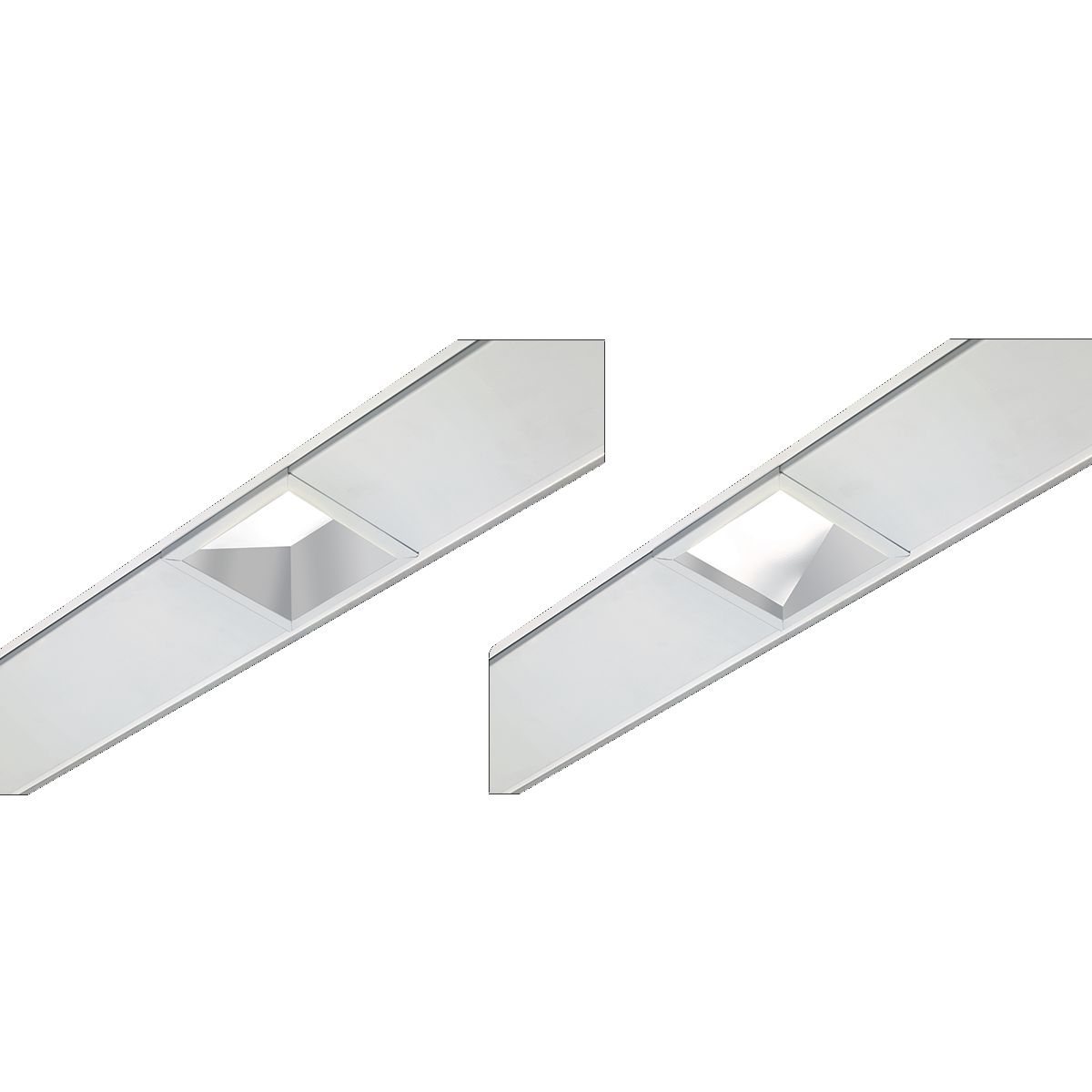 """4"""" Compatible Square Xicato LED Wall Wash with Lens"""