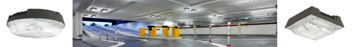 FPGR & FPGS ° Fidelux Parking & Garage Canopy Series