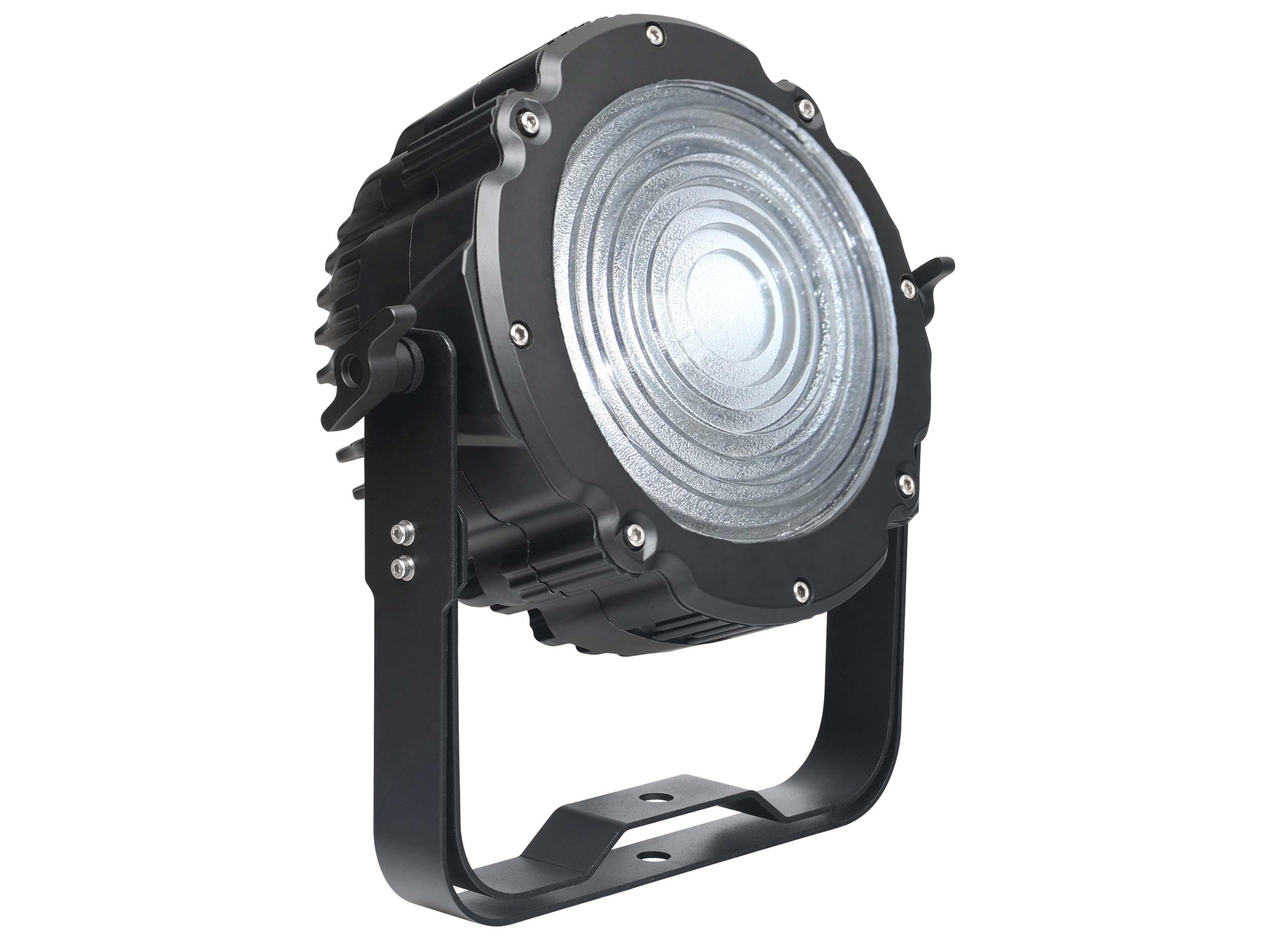 Adjustable LED RGBW Flood Light