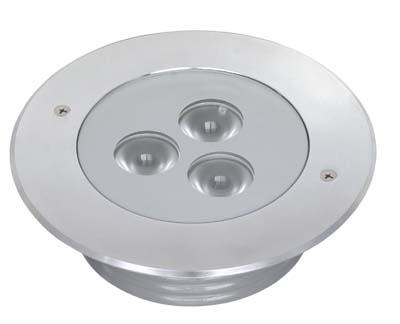 6 RGBW Stainless Steel In-Ground Light (Bluetooth - DMX - IR)