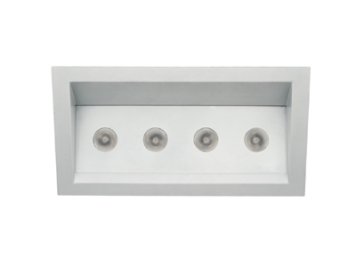 4 x 9 Wall Wash Trim (Bluetooth - DMX - IR)