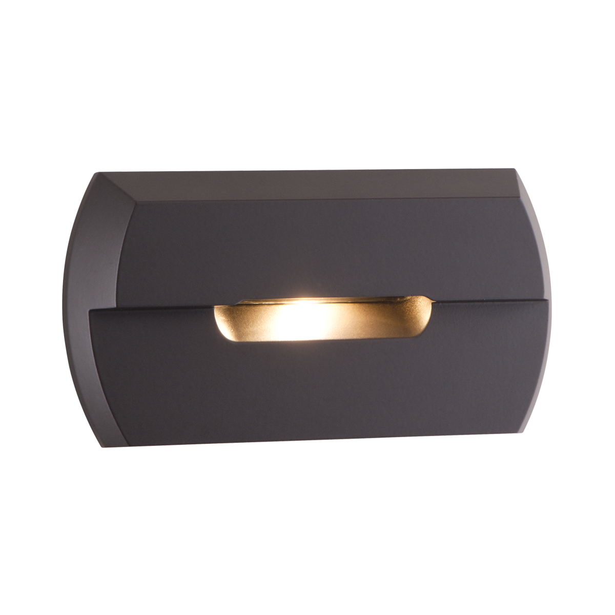 "2-1 - 2"" x 4-3 - 4"" LED Step Light, Bronze Finish"