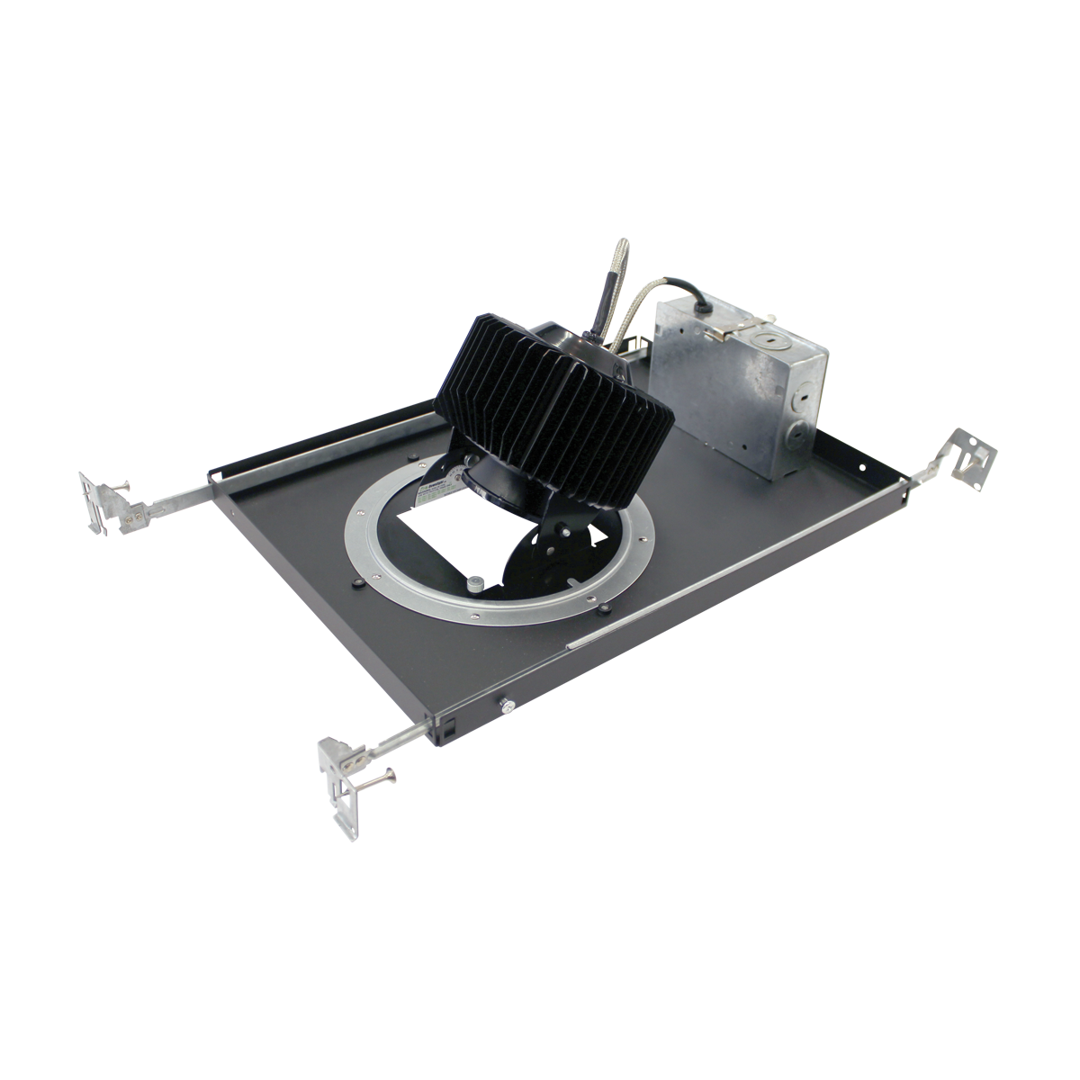 """3"""" Non-IC Adjustable New Construction Housing, 21W  -  3500K"""
