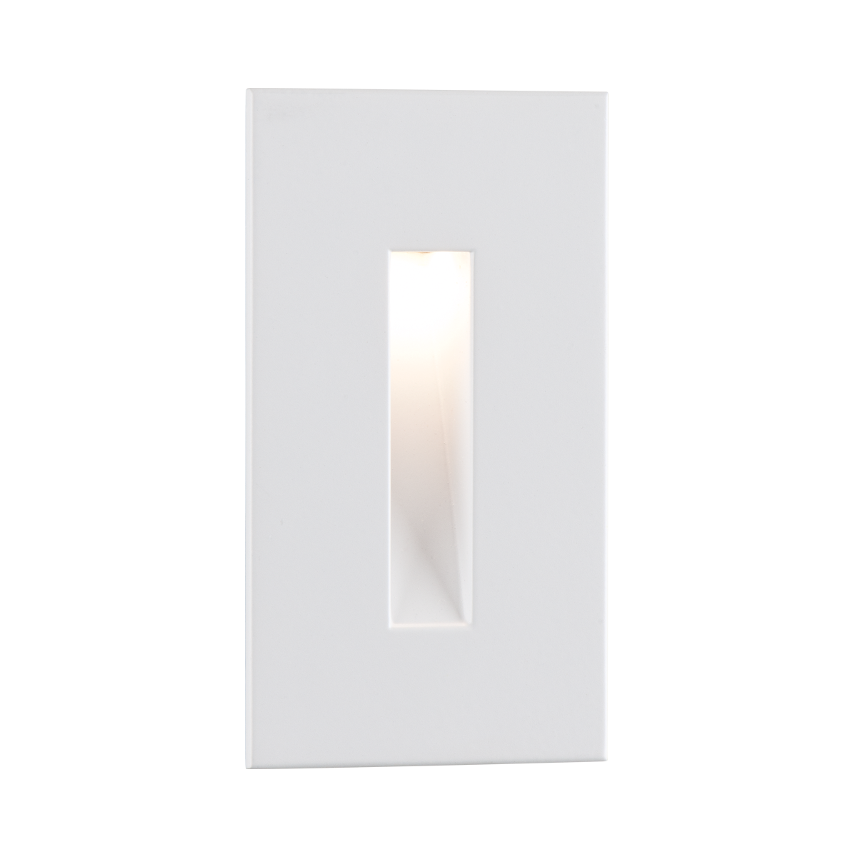 "4-1 - 2"" x 2-1 - 2"" LED Step Light, White Finish"