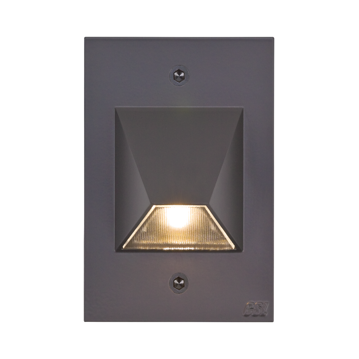 "4-1 - 2"" x 3"" LED Step Light, Bronze Finish"