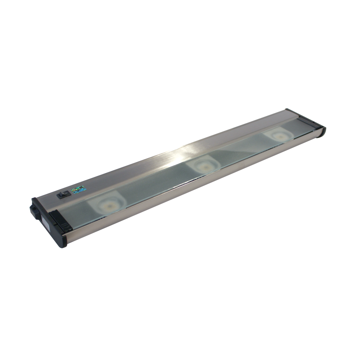 """24"""" CounterAttack LED Under Cabinet, Stainless Steel Finish"""