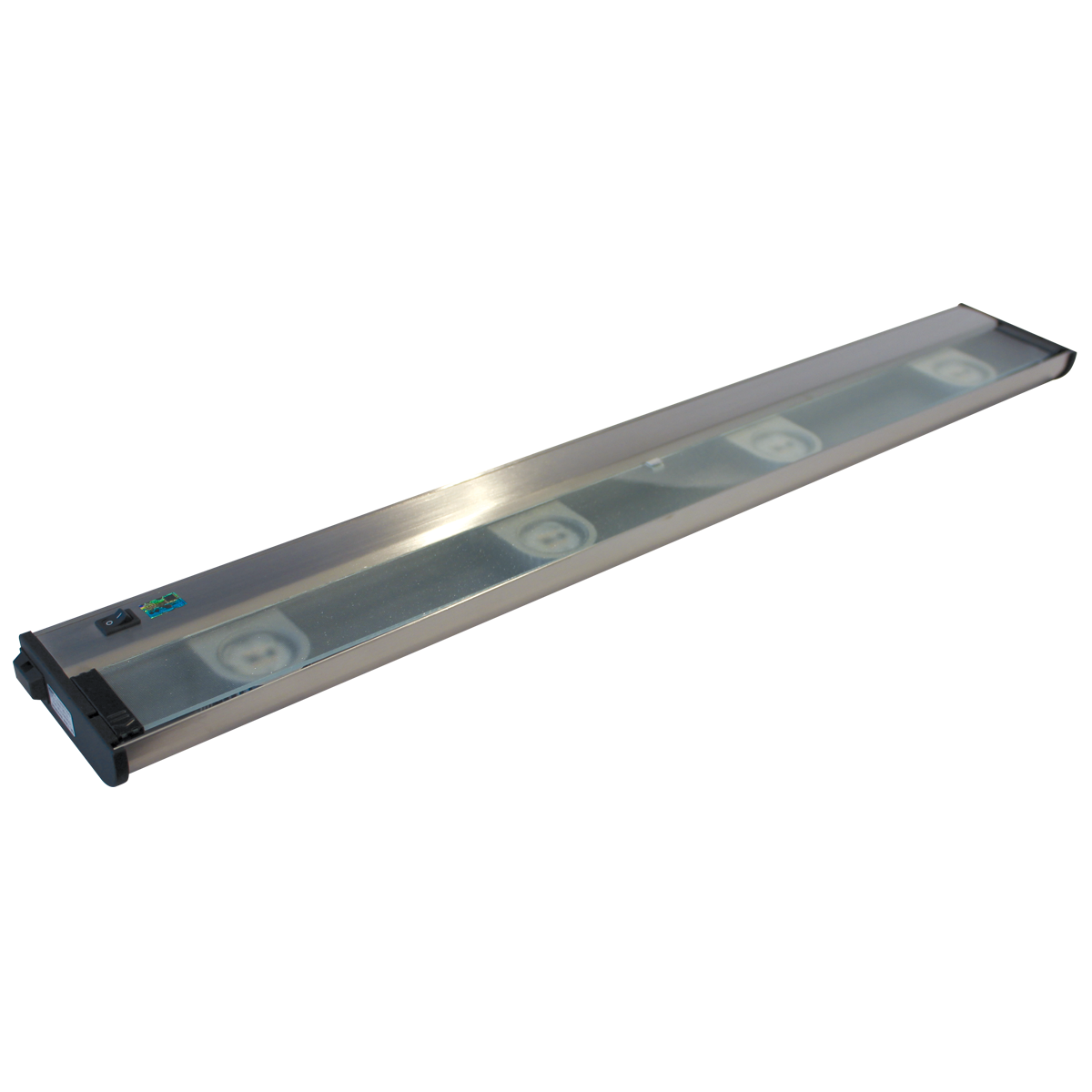 """32"""" CounterAttack LED Under Cabinet, Stainless Steel Finish"""