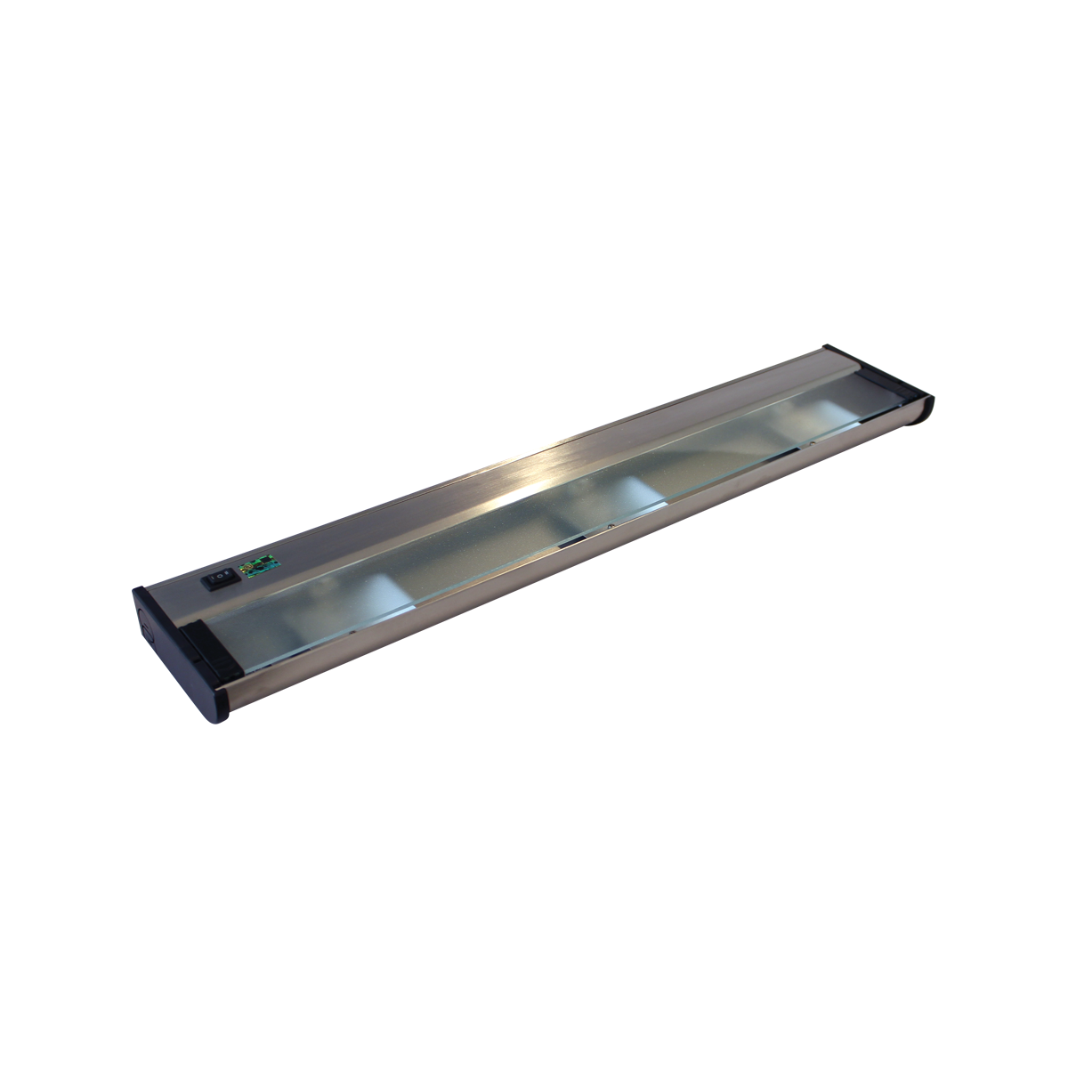 """24"""" CounterAttack Xenon Under Cabinet, Stainless Steel Finish, Hardwired"""