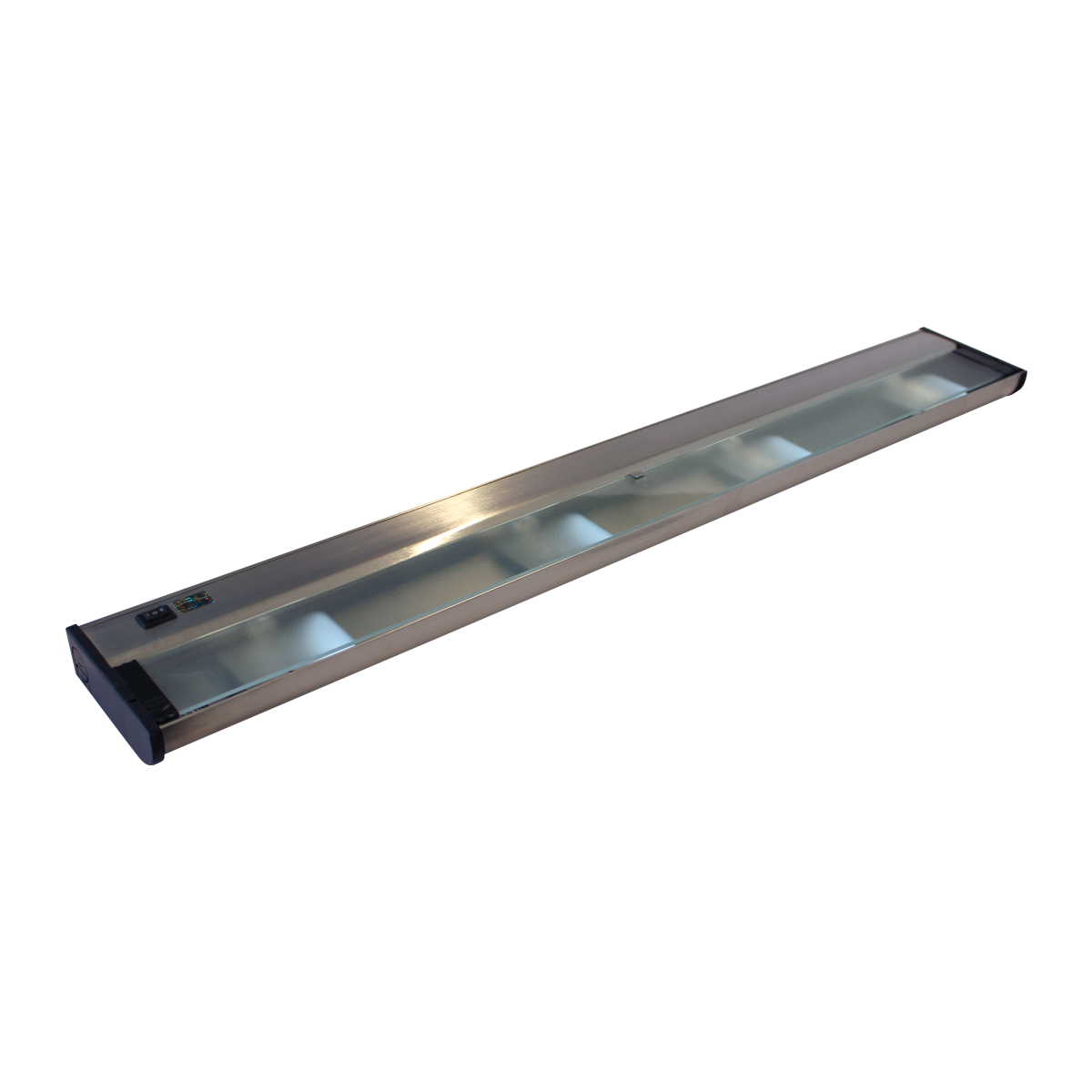 """32"""" CounterAttack Xenon Under Cabinet, Stainless Steel Finish, Hardwired"""