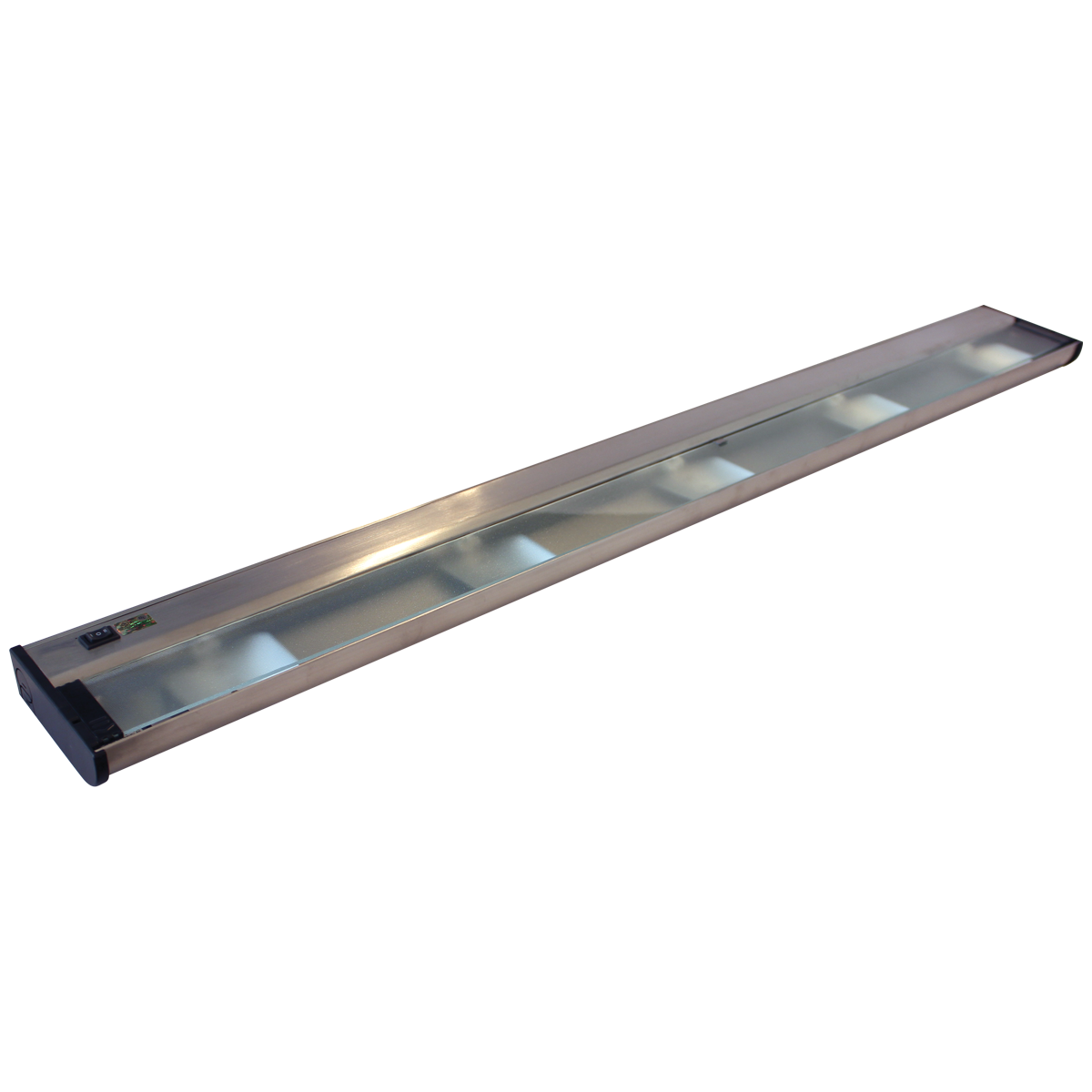 """40"""" CounterAttack Xenon Under Cabinet, Stainless Steel Finish, Hardwired"""