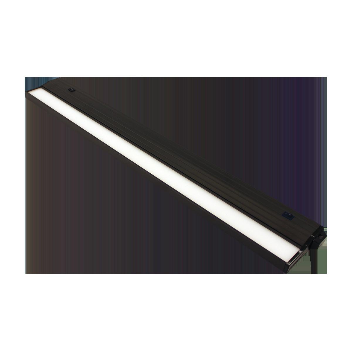 "24"" Eco-Counter LED Undercabinet, Bronze Finish, Dual Switchable CCT"