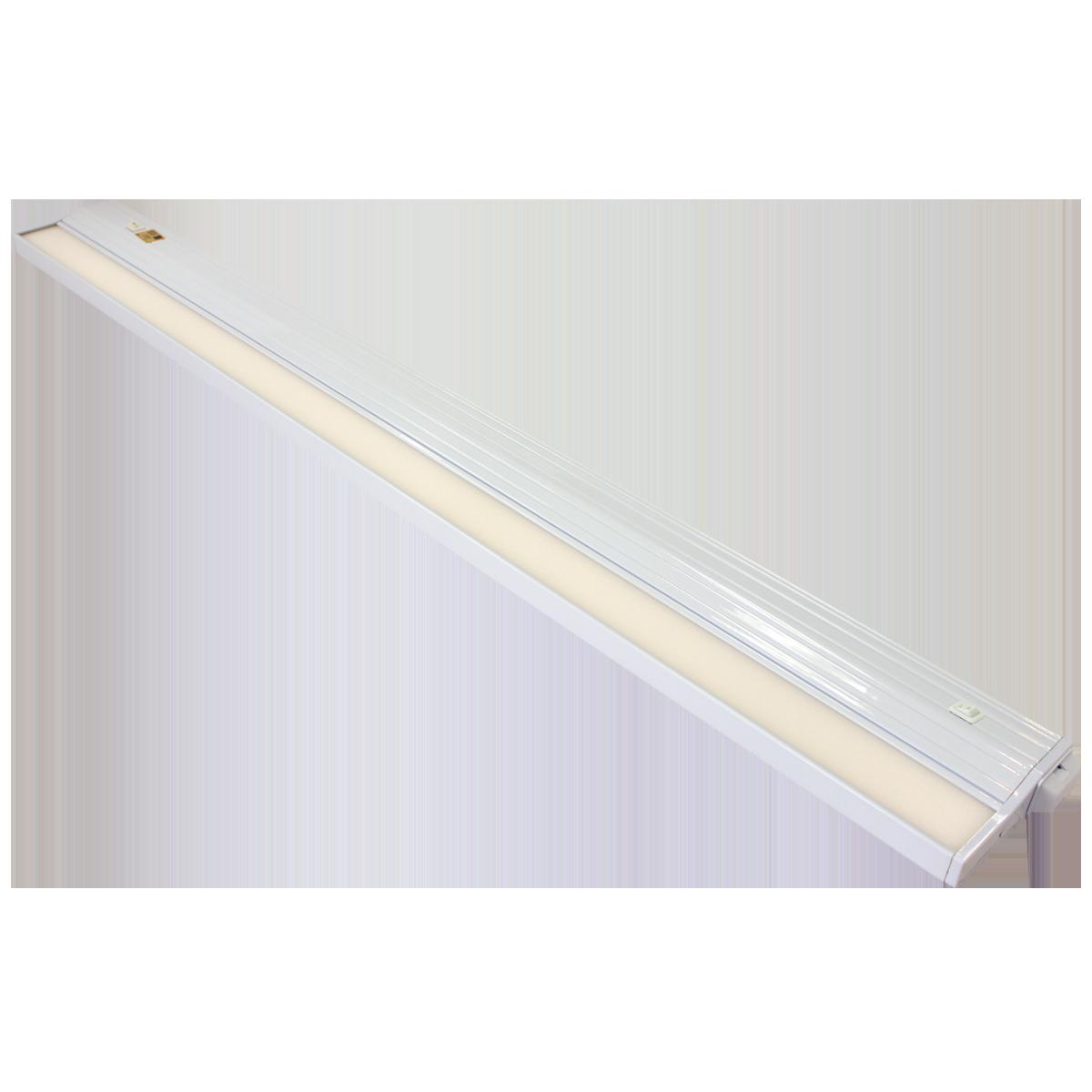"32"" Eco-Counter LED Undercabinet, White Finish, Dual Switchable CCT"