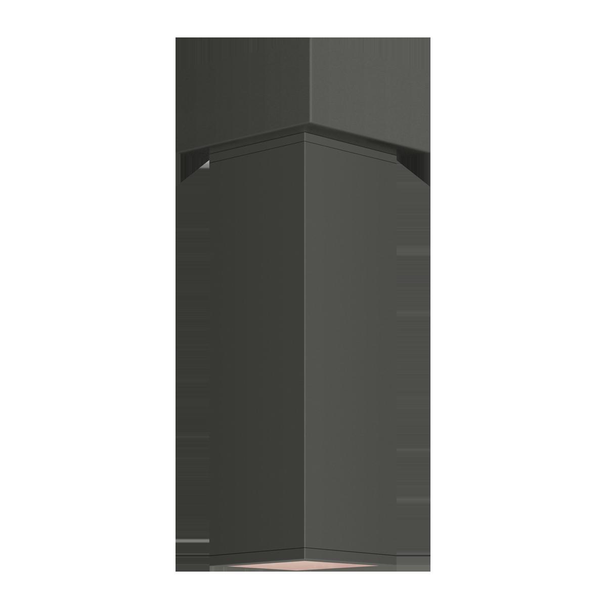 "3"" Square LED Flush Mount Cylinder, 2700K  -  90 CRI"