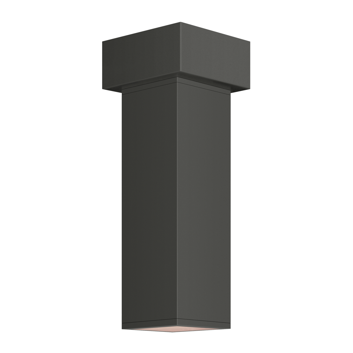 "3"" Square LED Flush Mount Cylinder, 3500K  -  90 CRI"