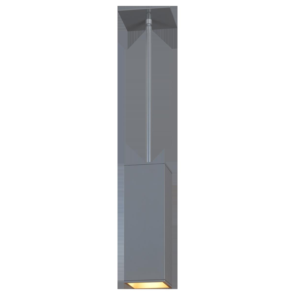 """3"""" Square LED Pendant, 4000K  -  80 CRI"""