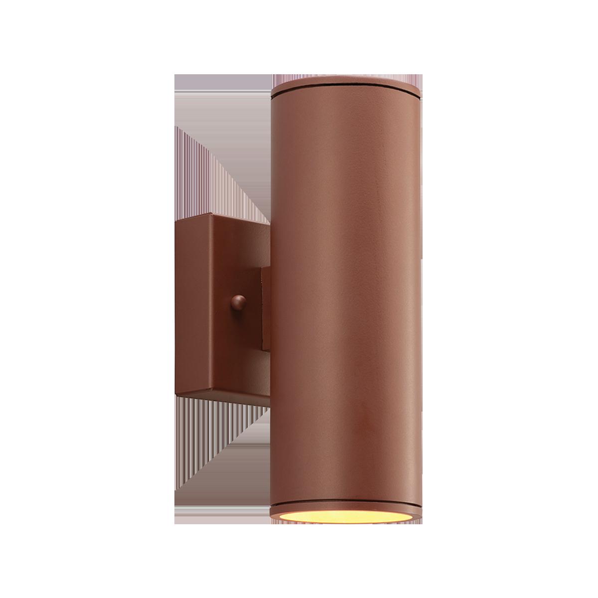 "2"" Round LED Wall Mount Downlight Cylinder, 3500K  -  90 CRI"