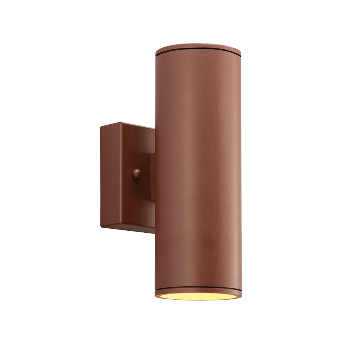 """2"""" Round LED Wall Mount Up - Downlight Cylinder, 2700K  -  90 CRI"""