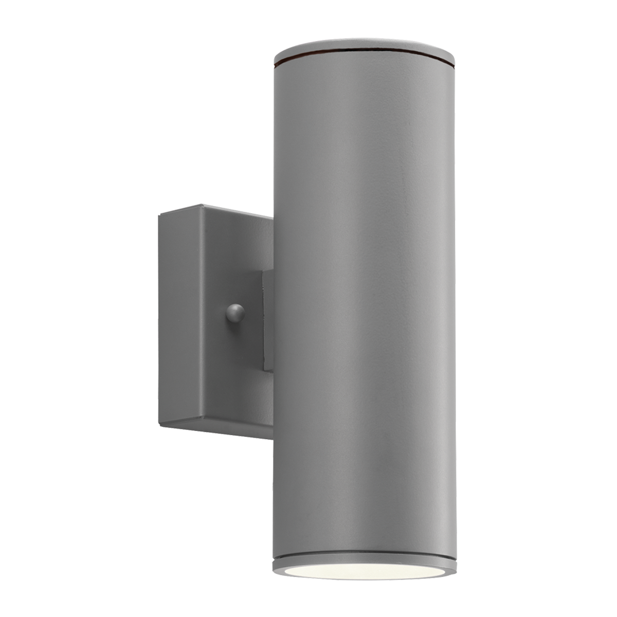 """3"""" Round LED Wall Mount Up - Downlight Cylinder, 2700K  -  90 CRI"""