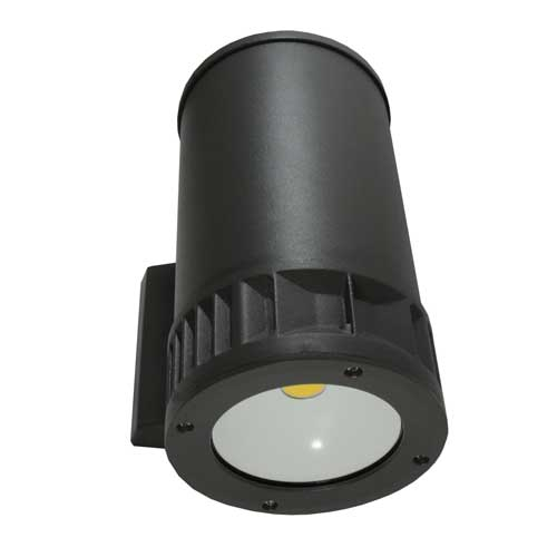 Amber Astra LED Up or Down Wall Cylinder