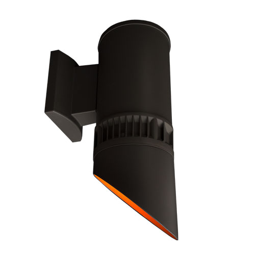 Amber Astra LED Down Light Wall Cylinder