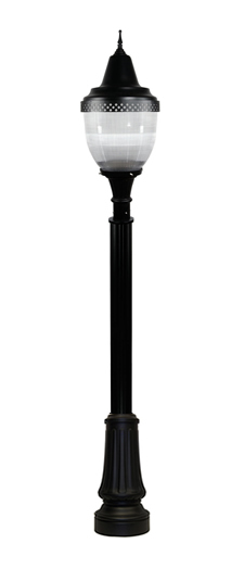 Bostonian DuraLED Deluxe with Spear Finial