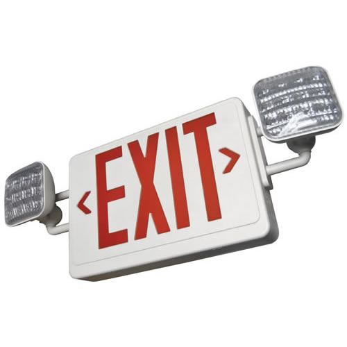 ALL LED Exit Emergency Light Unit Combo