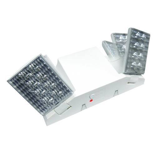 Fixed or Adjustable Optic LED Emergency Light