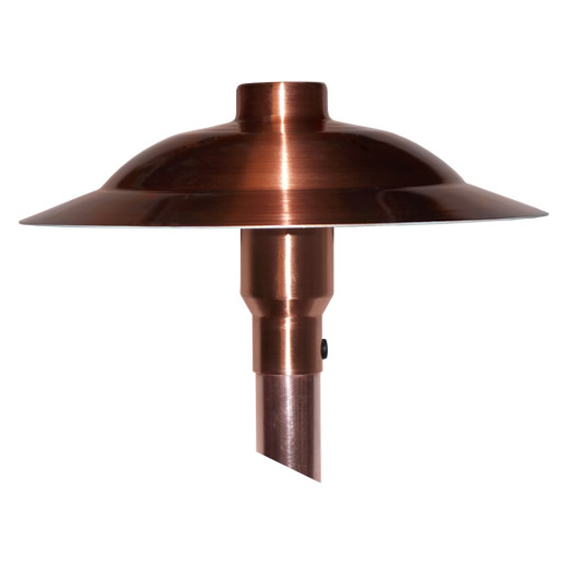 "Sanibel Copper 9"" LED Path Lights"