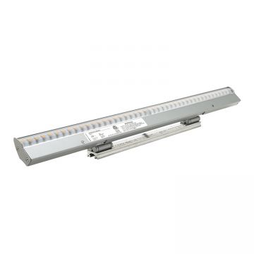 Low Profile Aimable Asymmetric LED Luminaire