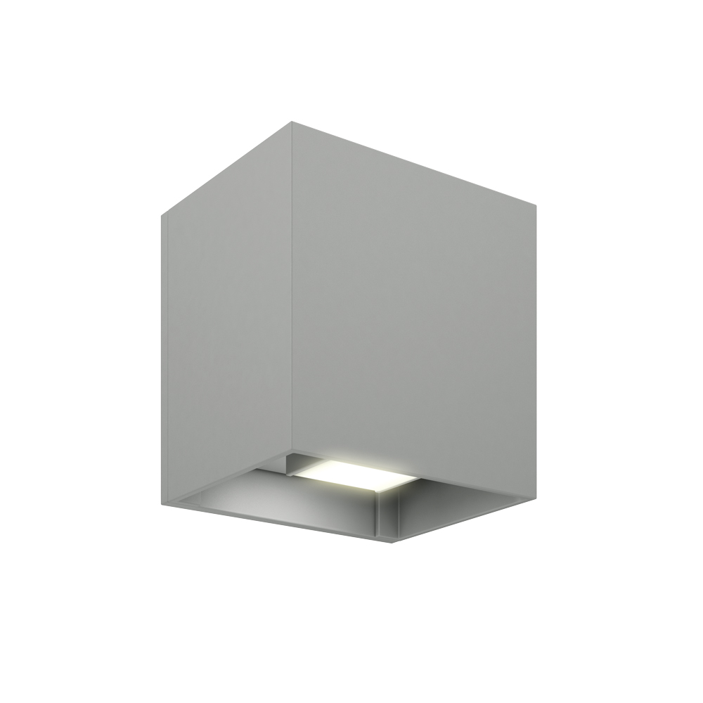 LEDWALL-G - Square directional LED wall sconce
