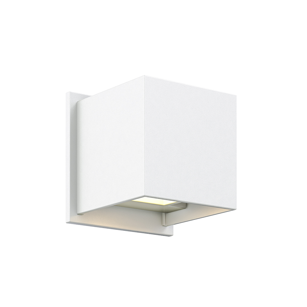 LEDWALL001D - Square directional LED wall sconce