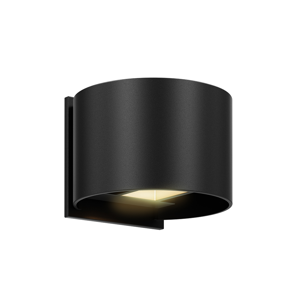 LEDWALL002D - Round directional LED wall sconce
