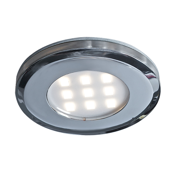 SLIMLED - 4007FR, 12V LED Puck, K4007FR, 3 puck kit