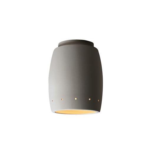 CeramicsCurved w -  Perfs Flush-Mount Outdoor
