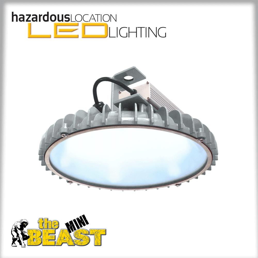 "HazLoc Low Bay Lighting ""mini Beast"""