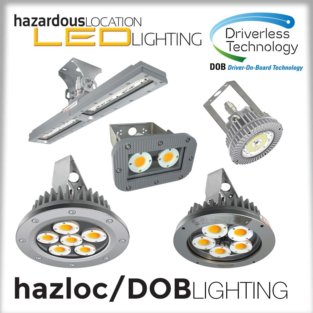 HazLoc DOB (Driver-less) Lighting