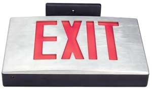 Cast Aluminum Exit Sign[CA]