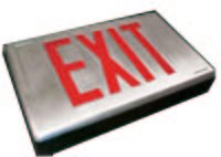 Cast Aluminum LED Exit Sign[HCA]