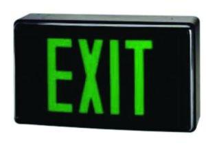 Cast Aluminum High Abuse LED Exit[CAHA]