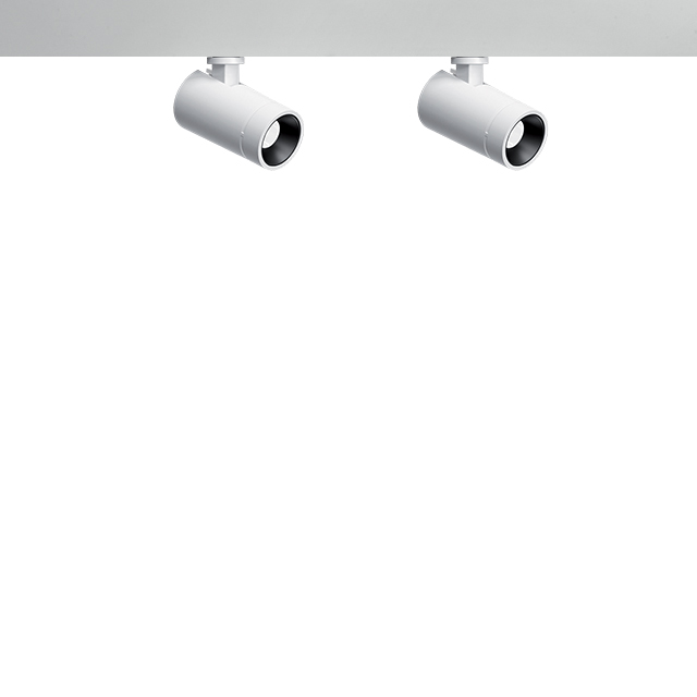 Palco Low Voltage double spotlight  ¾