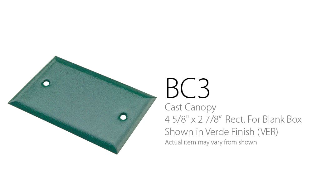 BC 3 Cast Cover Blank