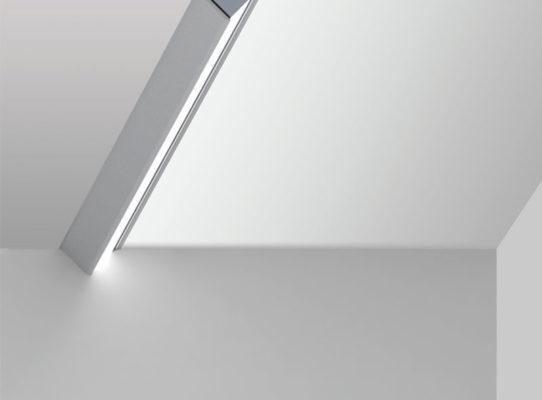 20 Linear Wall Wash Semi-Recessed Bezel Trim