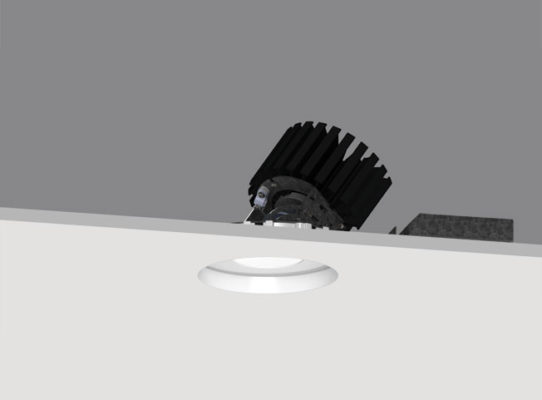 4″ ProTools DL Adjustable Round Regressed Pinhole Cover