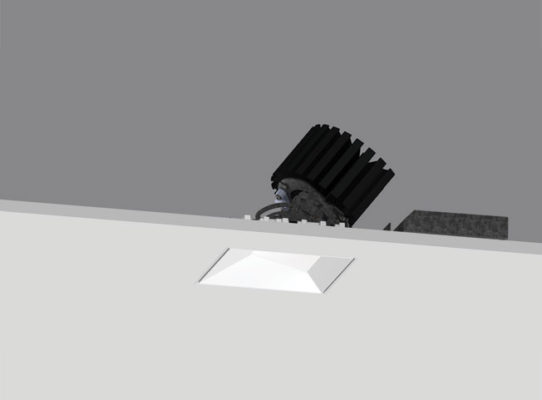 4″ ProTools DL Adjustable Square Asymmetric Cover